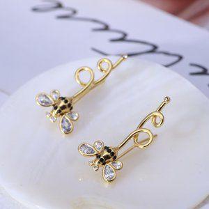 Kate Spade Fun Little Bee Earrings